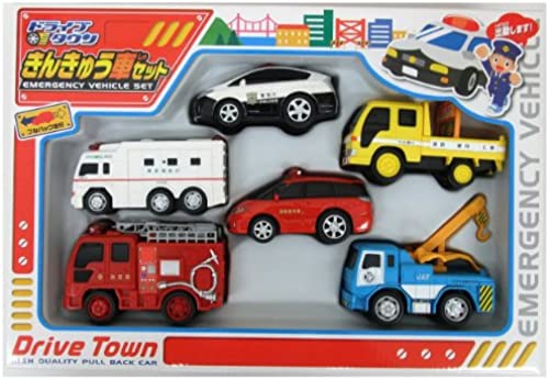 Town emergency drive car set (japan import)