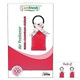 shopNsmile Camfresh Air Freshener Perfume Potli for Car & Bathroom - Rose-Chandan-Kesar (2)