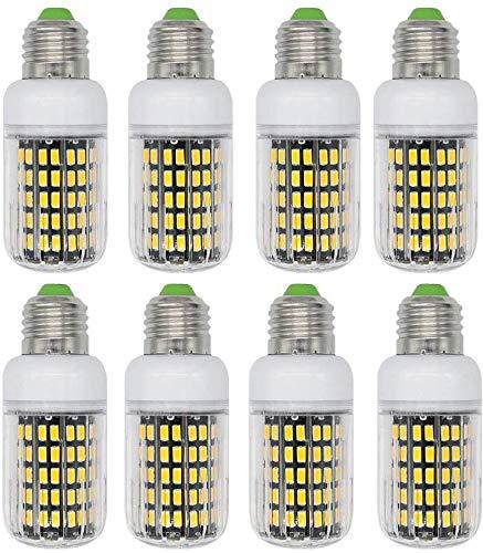 Dmygo E27 LED de la luz del maíz, blanco frío 6000K 10W, equivalente a 100W incandescente, 1000 lúmenes, no regulables bulbos de lámpara, iluminación casera for ventiladores de techo, dormitorio, 8 Pa