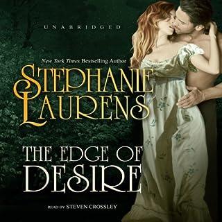 The Edge of Desire audiobook cover art