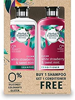 Herbal Essences Bio Renew White Strawberry & Mint Shampoo + Conditioner 400ml