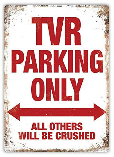 PEMA Parkplatzschild Parking Only 32x24 cm TVR
