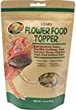 Zoo Med Flower Food Topper - Lizard - 1.4 oz, Assorted