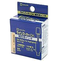 サクラクレパス ラインマーカーOA2 補充インク HVK#305 ケイコウオレンジ 00051651【まとめ買い10パックセット】