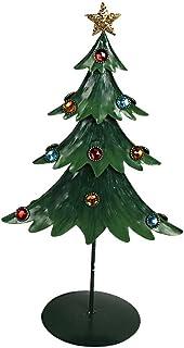 "Attraction Design Metal Holiday Wonder Beaded Tree, 15"""