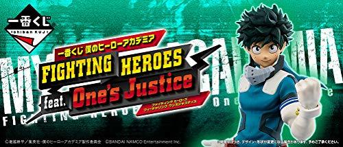 一番くじ 僕のヒーローアカデミア FIGHTING HEROES feat. One's Justice 全34種+ラストワン+販促物+くじ券80枚