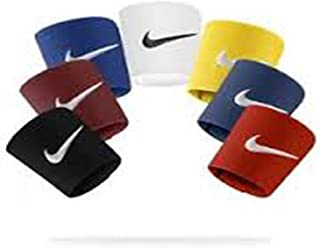 Nike Shin Guard Stays-1 Set Black & 1 Set White
