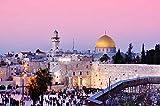 YFJSPTH Jigsaw Puzzle 1500 Piezas Rompecabezas de Juguete Juegos de Rompecabezas para la Familia Puzzle de Madera de 1500 Piezas para Adultos Muro de Las Lamentaciones y cúpula en Jerusalén Israel