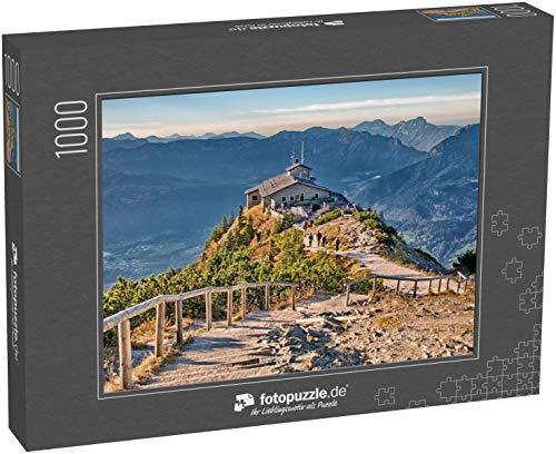 fotopuzzle.de Puzzle 1000 Teile Kehlstein Adlerhorst Berchtesgaden Bayern Deutschland Alpen Blick Landschaft