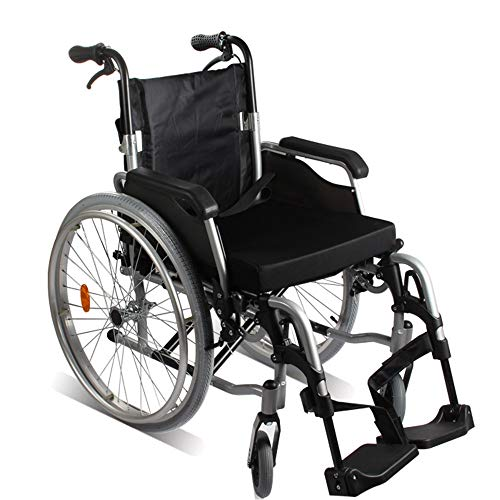 Opvouwbare rolstoel Aluminium Rolstoel Lichtgewicht En Opvouwbaar Frame Multifunctioneel Opvouwen Hoge kwaliteit Comfortabele Handleiding Rolstoel Kinderwagen Super lichtgewicht opvouwbare transit reizen wheelchai