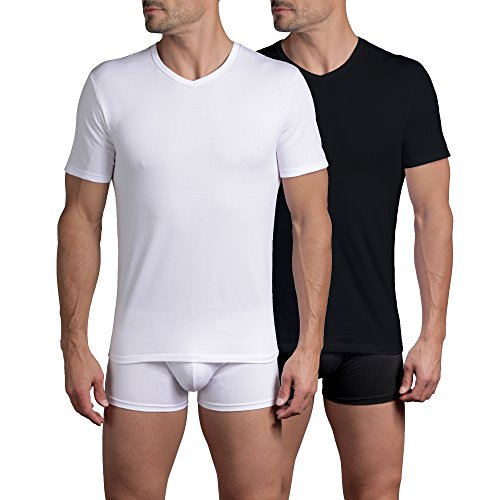 Dim X-Temp, Camiseta para Hombre, Pack de 2