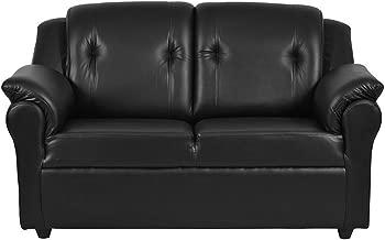 Furny York Two Seater Sofa (Black)