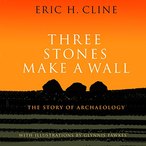 Three Stones Make a Wall audiobook cover art