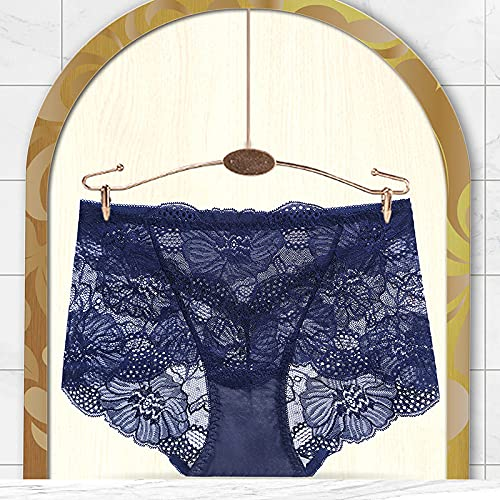 lmqsdhh Women's Underwear Cotton Panties for Women, 6 Pack Mid Waist,XXL Boyshorts, Briefs, Or Hipster Fit Available