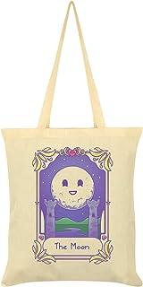 Deadly Tarot Kawaii The Moon Tote Bag Cream 38x42cm