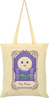 Deadly Tarot Kawaii The Moon Tote Bag Cream 38x42cm