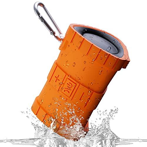 EBODA Waterproof Bluetooth Shower Speaker, Portable IP67...