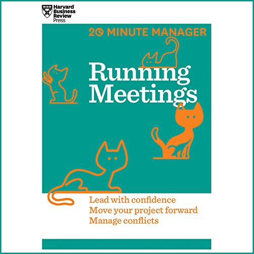 Running Meetings audiobook cover art