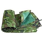 PVC camouflage Bâche, haute densité Weave, 100% double face Revêtement étanche, robuste, 420G / M² F1/28 (Size : 4.5x6m)