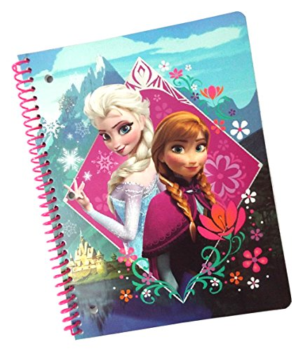 Disney Frozen 1 Subject Wide Ruled Notebook - (Colors/Graphics Vary)