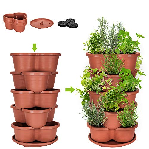 Stackable Planter Vertical Garden