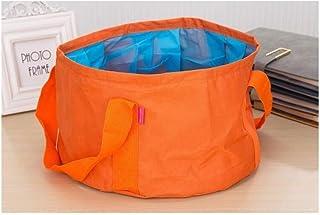 ACAO ポータブル屋外旅行折りたたみ折りたたみキャンプ洗面台洗面バケットバケットボウルシンク洗浄バッグ水バケツ15L