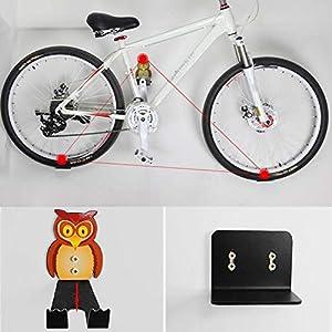 VGEBY1 Estante de Almacenamiento de Ganchos para Bicicletas, Soporte de Montaje en Pared para Bicicletas Soporte de Pared para Bicicletas Lindo para Almacenamiento Espacio Interior para Bicicletas