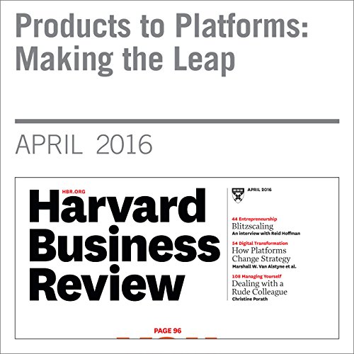 Products to Platforms: Making the Leap copertina