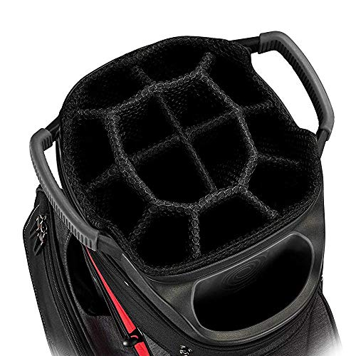 Callaway Golf 2019 Org 14 Cart Bag, Red/Black/Titanium