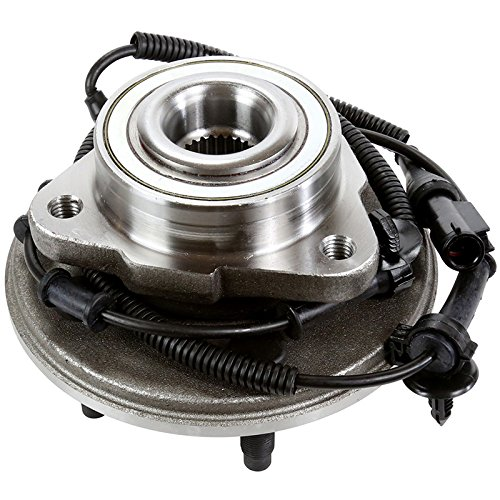 AutoShack HB615052 Wheel Bearing Hub Front Driver or Passenger Side Wheel Hub Bearing and Assembly 5 Lugs with ABS Replacement for 2002-2005 Ford Explorer Mercury Mountaineer 2003-2005 Lincoln Aviator