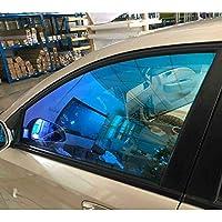 55%VLT車カメレオンウィンドウ色合いフィルム耐性ナノセラミックス膜自動車窓ガラスのステッカー車箔1.52x8mスクラッチ (Size : 1.52x8m)