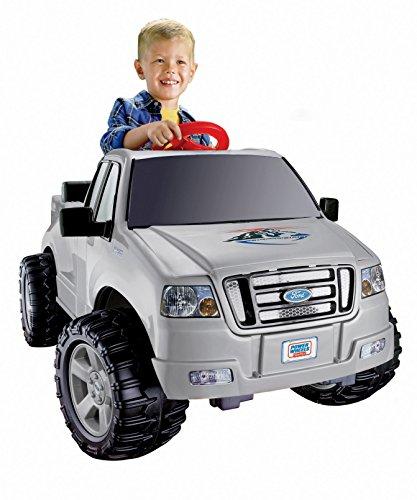 MATTEL C3493 Power Wheels Ford Lil' F-150 , Silver
