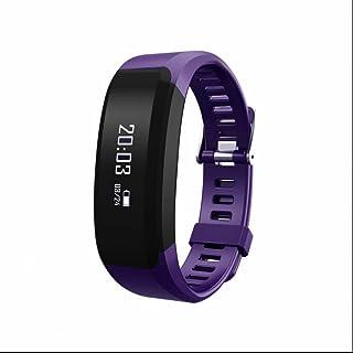 Pulsera Actividad Bluetooth,Pulsera Actividad Pulsera Inteligente con Perseguidor de la aptitud Monitor de Ritmo Cardíaco y Sueño Monitoreo de frecuencia cardíaca Notificación de mensajes para iOS y Android