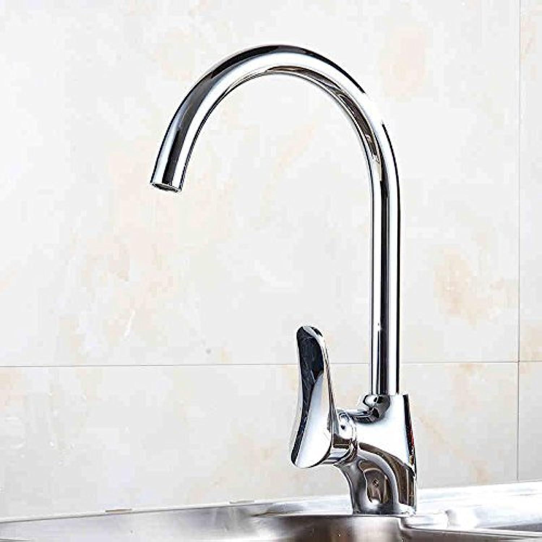DYR Wasserhahn Küchenhahn Gemüse Becken Heien Und Kalten Wasserhahn Alle Kupfer Gemüse Edelstahl Waschbecken Wasserhahn