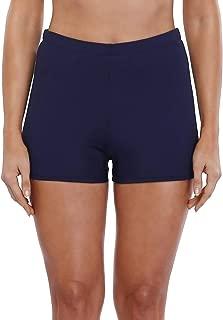 Women's Stretch Swim Bottom Sport Board Shorts Solid Tankini Shorts