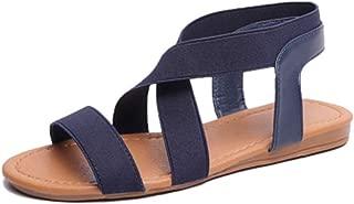 Inlefen Sandals Women's Flat shoe Summer Open toe Leisure shoe