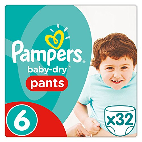 Pampers 81676074 Baby-Dry Pants windelhose, weiß