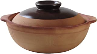 Clay Casserole Pot Clay Cooking Pot - Clay Casserole Stew Pot Clay Pot Rice Household High Temperature Stew Pot-1.0L
