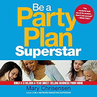 Be a Party Plan Superstar audiobook cover art