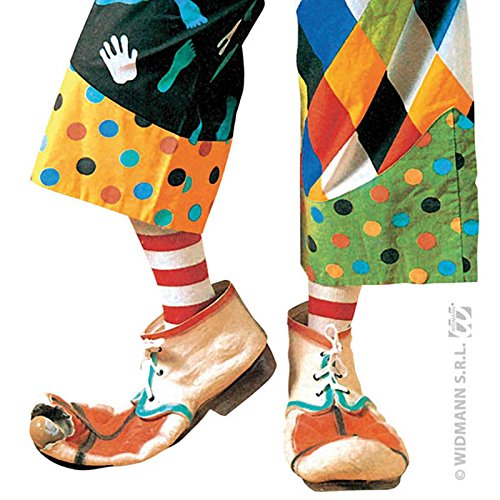 Widmann - Ac1860 - Chaussures Clown Enfant Assorti