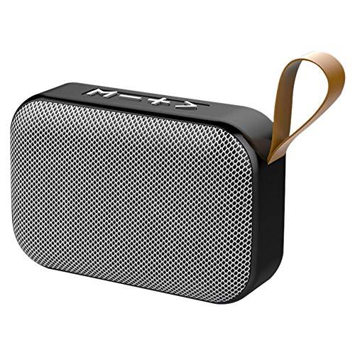 househome Kabelloser Bluetooth-Lautsprecher Mini Subwoofer Bluetooth 5.0 Tragbar Megaphon Kleiner Lautsprecher Laute Lautstärke Bluetooth Lautsprecher Mini Smart Speaker 360° Sound