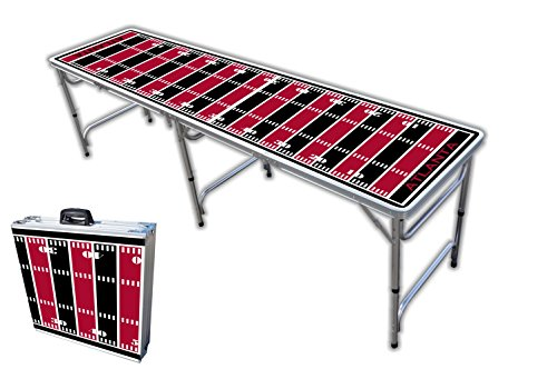 Why Choose 8-Foot Professional Beer Pong Table - Atlanta Football Field Graphic