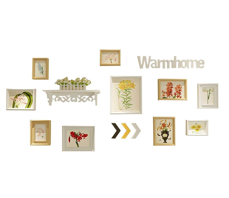 LIUXIN 写真の壁、北ヨーロッパの装飾写真の壁棚付きクリエイティブな掛け壁 フォトウォール (Color : #2)