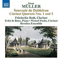 Muller: Clarinet Quartets Nos 1 & 2