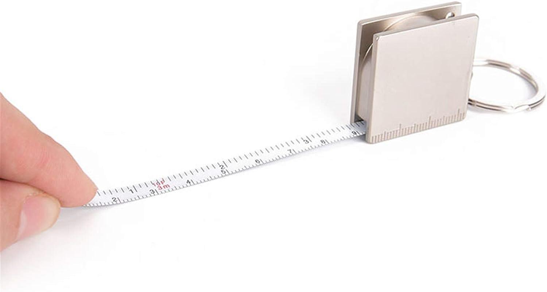 Memphis Mall kengbi Durable and Sturdy Tape Latest item Measure Keych Measurea Metal