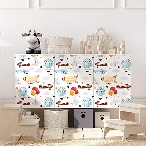 RA0216 - Lámina adhesiva para muebles y paredes, rollos de papel adhesivo de alta resolución con varios tamaños, para muebles, azulejos, mesas, armarios, cocinas