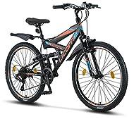 Licorne Bike, Premium mountain bike in 26 inches - bicycle for boys, girls, women and men - Shimano ...
