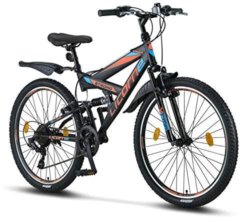 bici biammortizzata decathlon