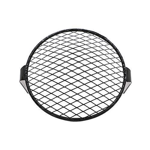 Scheinwerfer-Schutzgitter, 17 cm, quadratisch, schräg, Metall-Rückseite, Zubehör für Fahrzeuge, Universal-Scheinwerfer mit 5,75 Zoll Oblique