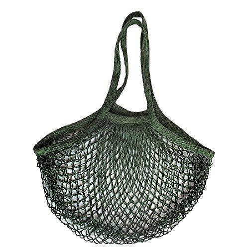 Bolsa de malla portátil para el almacenamiento de verduras y frutas,Green
